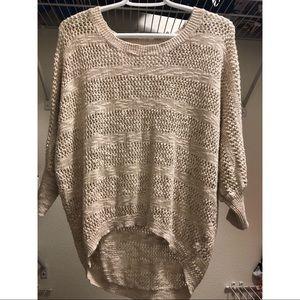 Sweaters - Cream/nude sweater